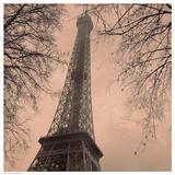 Eiffel in Warm Sky Posters