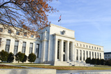 Washington DC - Federal Reserve Building in Autumn Photographic Print by  Orhan