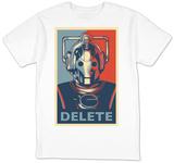Doctor Who - Cybermen Delete T-Shirt