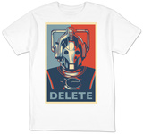 Doctor Who - Cybermen Delete T-shirts