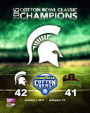 Michigan State Spartans Cotton Bowl Champions Photo