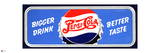 Pepsi - Bigger Drink, Better Taste Vintage 1945 Sign Prints