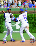 Jorge Soler & Starlin Castro 2014 Action Photo