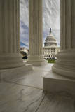 United States Capital Photographic Print by Michael Shake