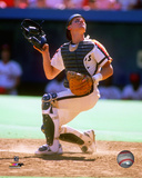 Craig Biggio 1989 Action Photo