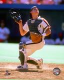 Craig Biggio 1989 Action Photo