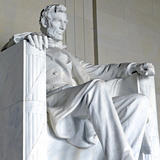 Abraham Lincoln Statue, Lincoln Memorial, Washington Dc, USA Photographic Print by robert cicchetti