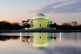 Washington Dc, Thomas Jefferson Memorial at Sunrise - United States Photographic Print by  Orhan