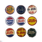 Pepsi Bottle Caps Collage Posters