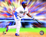 Yasiel Puig Motion Blast Photo