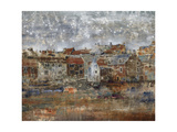 Shoreside VIllage Giclee Print by Alexys Henry
