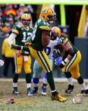 Randall Cobb 2014 Playoff Action Photo