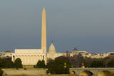 Washington Monument Mall Lincoln Capitol Night DC Travel Series 31 Prints by Kent Weakley