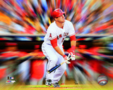 Mike Trout Motion Blast Photo
