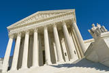 The Front of the US Supreme Court in Washington, Dc. Photographic Print by Gary Blakeley