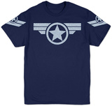 Marvel - Super Soldier Uniform (Silver) T-Shirt