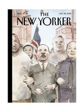The New Yorker Cover - January 26, 2015 Regular Giclee Print by Barry Blitt