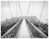 Smoky Mountain Bridge Print by  Stephens