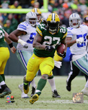 Eddie Lacy 2014 Playoff Action Photo