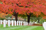Arlington National Cemetery near to Washington Dc, in Autumn Valokuvavedos tekijänä  Orhan