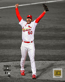 Adam Wainwright Game 5 of the 2006 World Series Spotlight Photo