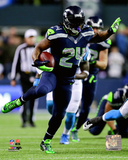 Marshawn Lynch 2014 Playoff Action Photo