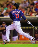 Jorge Polanco 2014 Action Photo