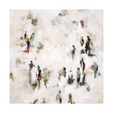 Crowd on the Street Giclee Print by Sydney Edmunds
