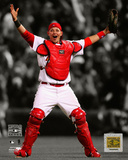 Yadier Molina - Celebrates Winning the 2006 World Series Spotlight Photo
