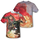 Alien vs Predator - Brutal Battle (Front/Back Print) Shirts