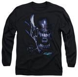 Longsleeve: Alien vs Predator - Alien Head T-Shirt