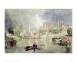 Worcester Cathedral Giclee Print by J.M.W. Turner
