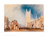 Stamford, 1828 Giclee Print by J.M.W. Turner