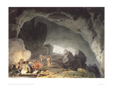 Peaks Hole, Derbyshire Giclee Print by J.M.W. Turner