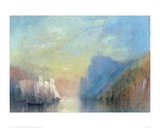 On the Rhine, 1830 Giclee Print by J.M.W. Turner