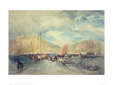 Hastings from the Sea Giclee Print by J.M.W. Turner