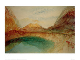 Lake in the Swiss Alps, 1848 Giclee Print by J.M.W. Turner