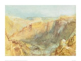 Luxembourg from the North Giclee Print by J.M.W. Turner