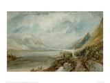 Die Einmuendung der Lahn, 1817 Giclee Print by J.M.W. Turner