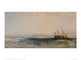A Ship Around, 1828 Giclee Print by J.M.W. Turner