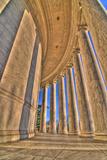 Jefferson Memorial Print by Matthew Carroll