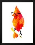 Punk Bird Poster by Robert Farkas