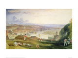 Chatham Towards Fort Pitt Giclee Print by J.M.W. Turner