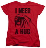 Womans: Alien - Need A Hug T-Shirt