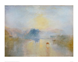 Norham Castle, Sunrise Giclee Print by J.M.W. Turner