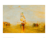 The Sun of Venice Setting Sail, 1843 Giclee Print by J.M.W. Turner