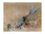 A View on The Rhine Giclee Print by J.M.W. Turner