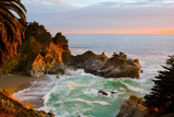 Mcway Falls in Big Sur at Sunset, California Photographic Print by  Andy777