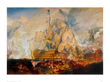 Battle of Trafalgar, 21 October 1805 Giclee Print by J.M.W. Turner