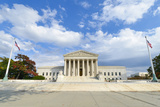 U.S. Supreme Court in Autumn - Washington Dc, United Sates Poster by  Orhan